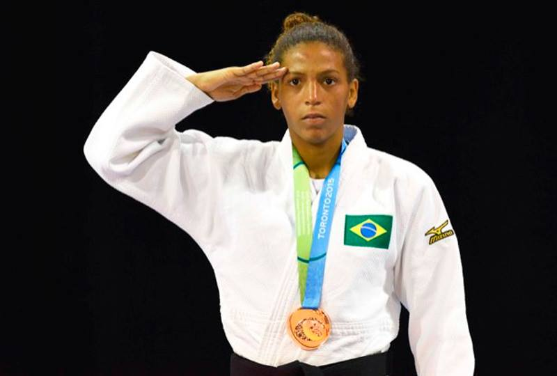 rafaela silva - lgbts to watch out for, judo, brazil, olympics
