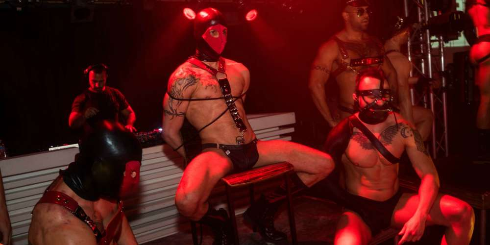 20 Sexy Shots from New York's M.E.A.T. Party (NSFW)