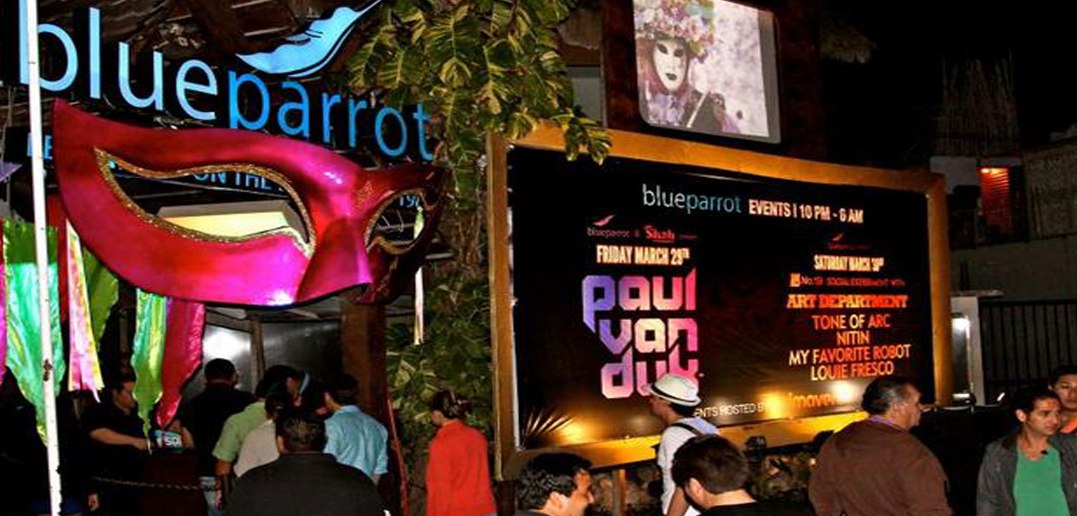Playa Del Carmen, BPM festival, Blue Parrot, bar, shooting, Zetas, electronic music festival