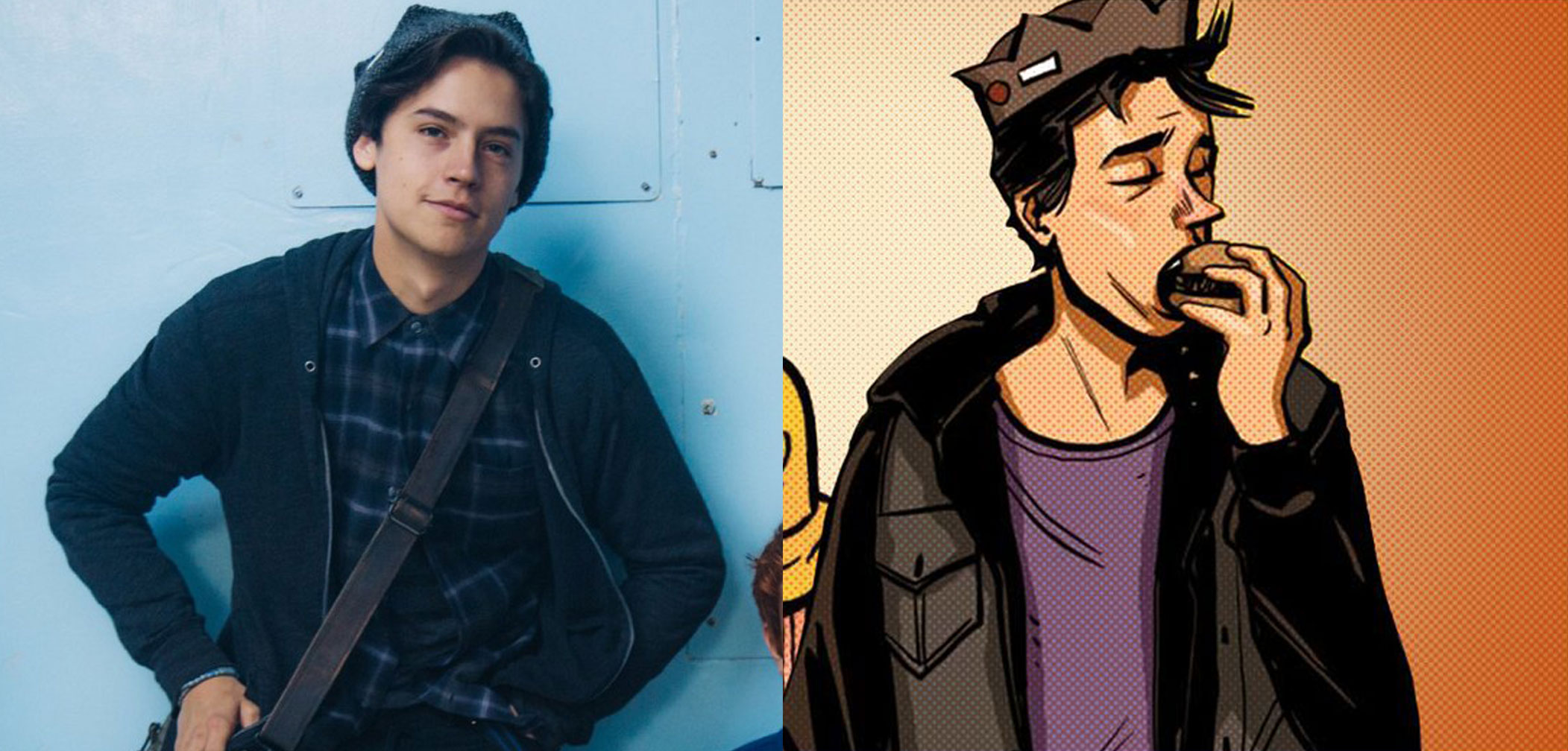 Cole Sprouse, Jughead, Archie, Riverdale, actor, comic books