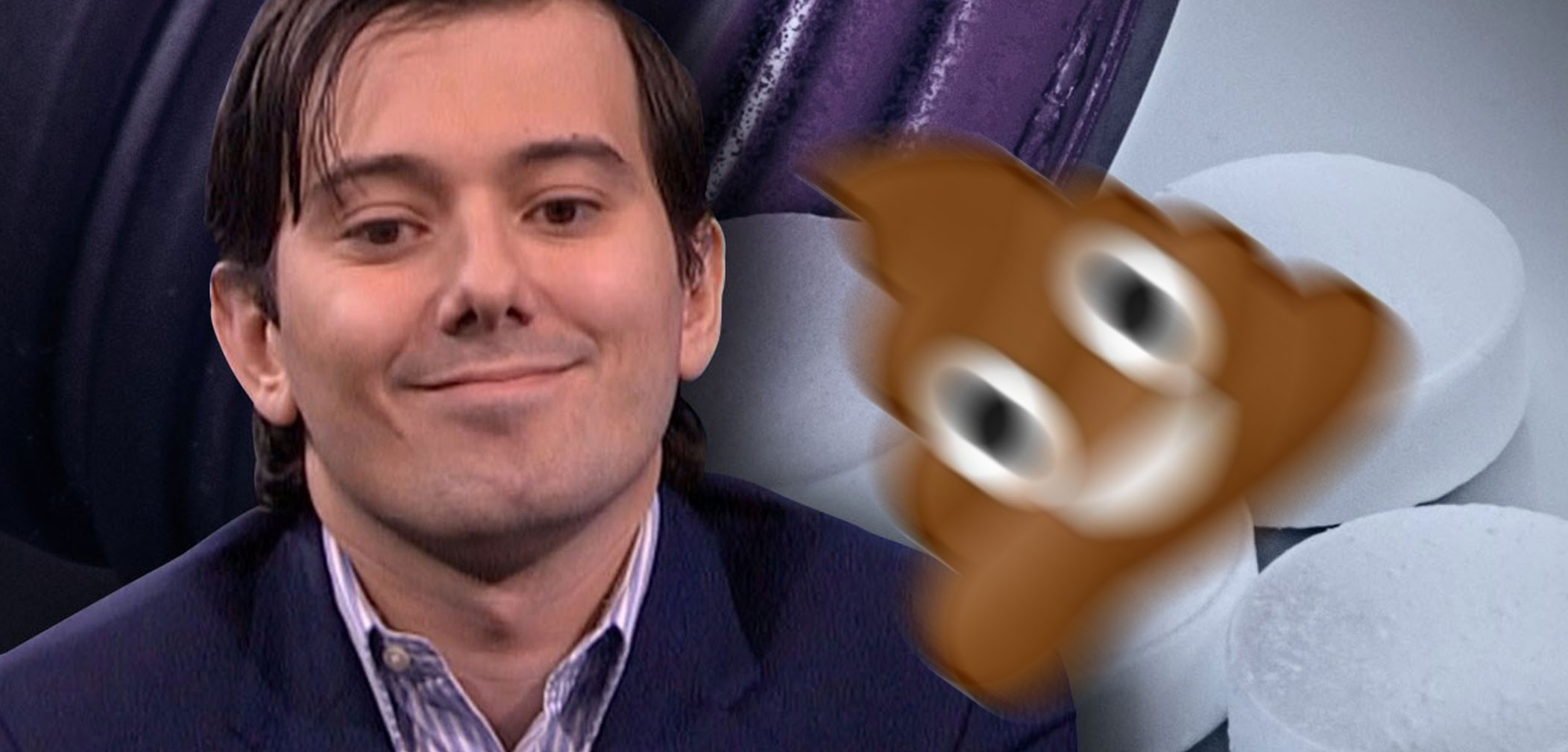 Pharma Douche Martin Shkreli Literally Hit in the Face With Poop (Video)