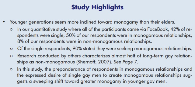 Gay Men Monogamy