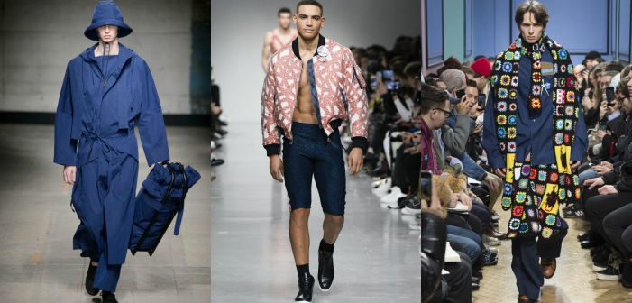 5 Trends for Men to Come Out of London Fall/Winter Fashion Week
