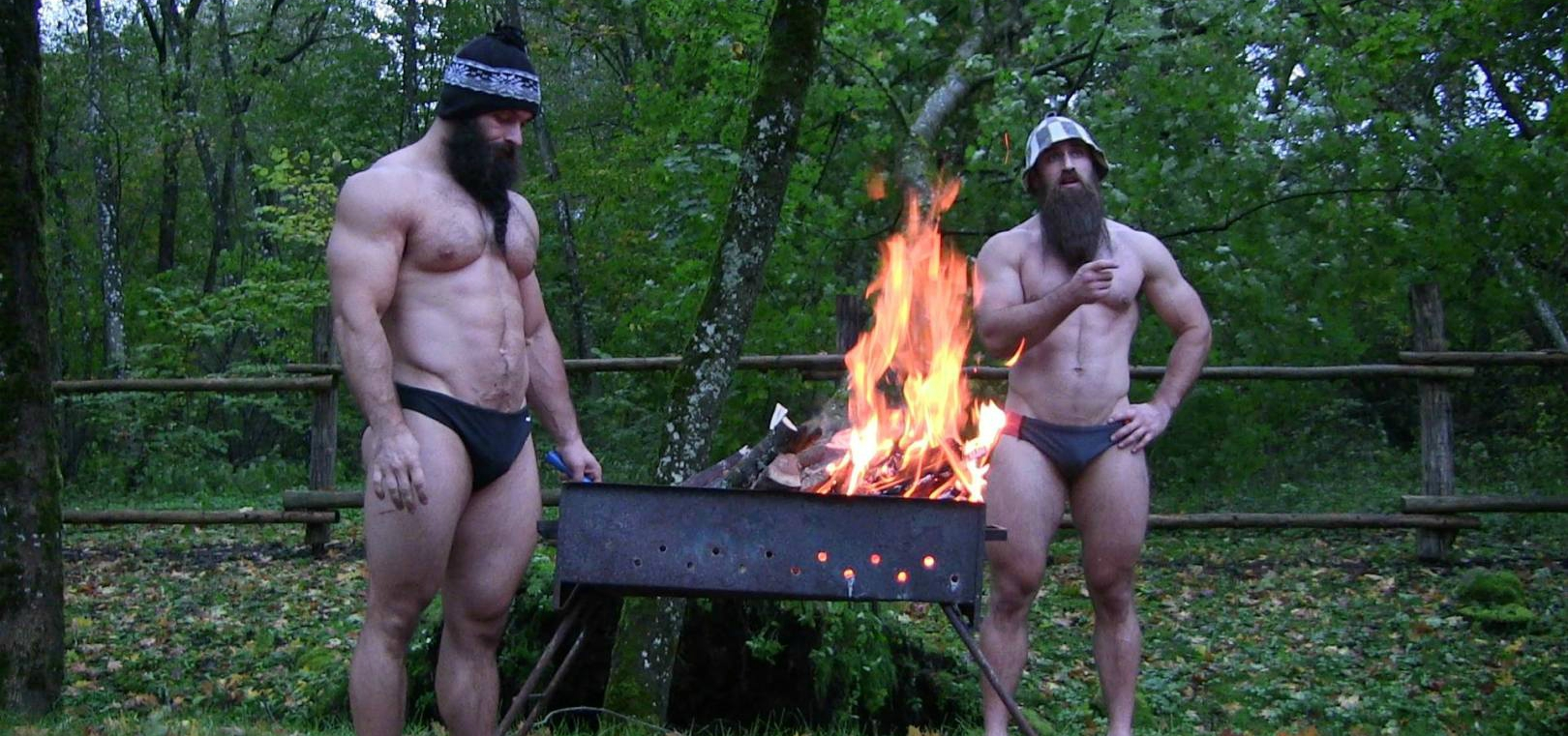 Watch These Hotter Than Hell CrossFit Gods Chill in Sub-Zero Temps (Video)