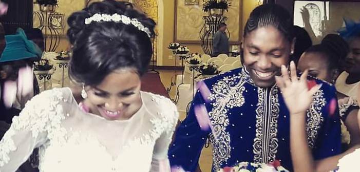Olympic Runner Caster Semenya's Lesbian Wedding (Photos)