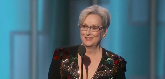 Meryl Streep Slams Trump in Globes Acceptance Speech, Trump Responds (Video)