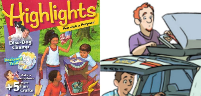 'Highlights for Children' Unveils Its First Same-Sex Parents