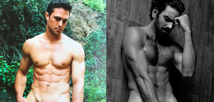 Taylor Kinney and Nyle DiMarco Reveal Their Pubes (Photos)