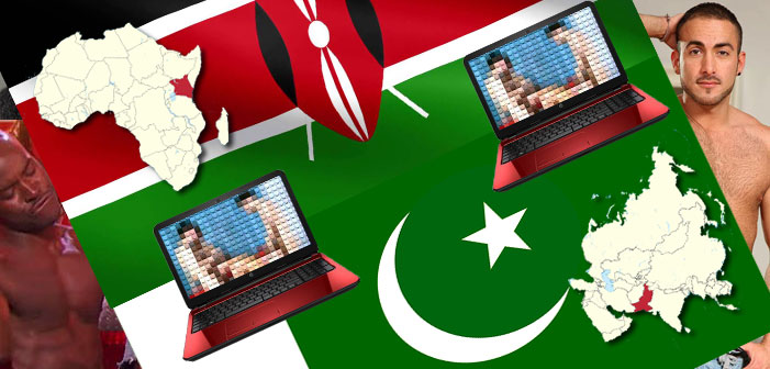 Pakistan and Kenya Are Very Anti-Gay, Very Into Gay Porn