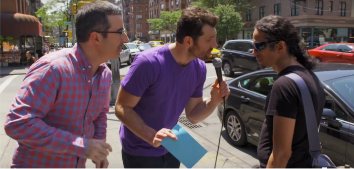 Gay Men Eviscerate Comedian John Oliver's Self-Esteem (Video)