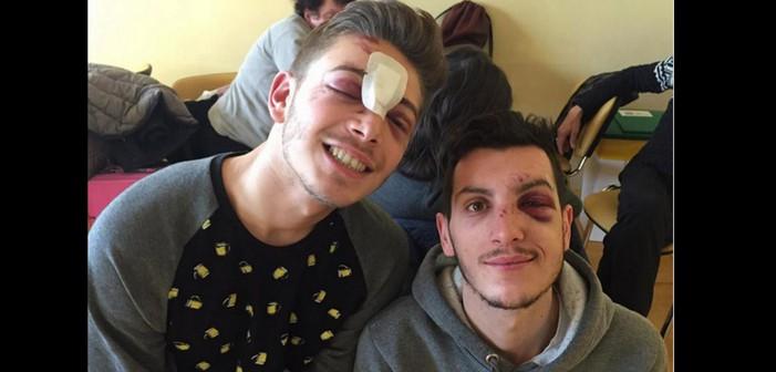 Violente agression homophobe à Milan, l'une des victimes témoigne