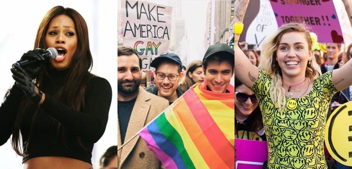 22 Posts LGBTQ Incríveis no Instagram da Marcha das Mulheres (Fotos)