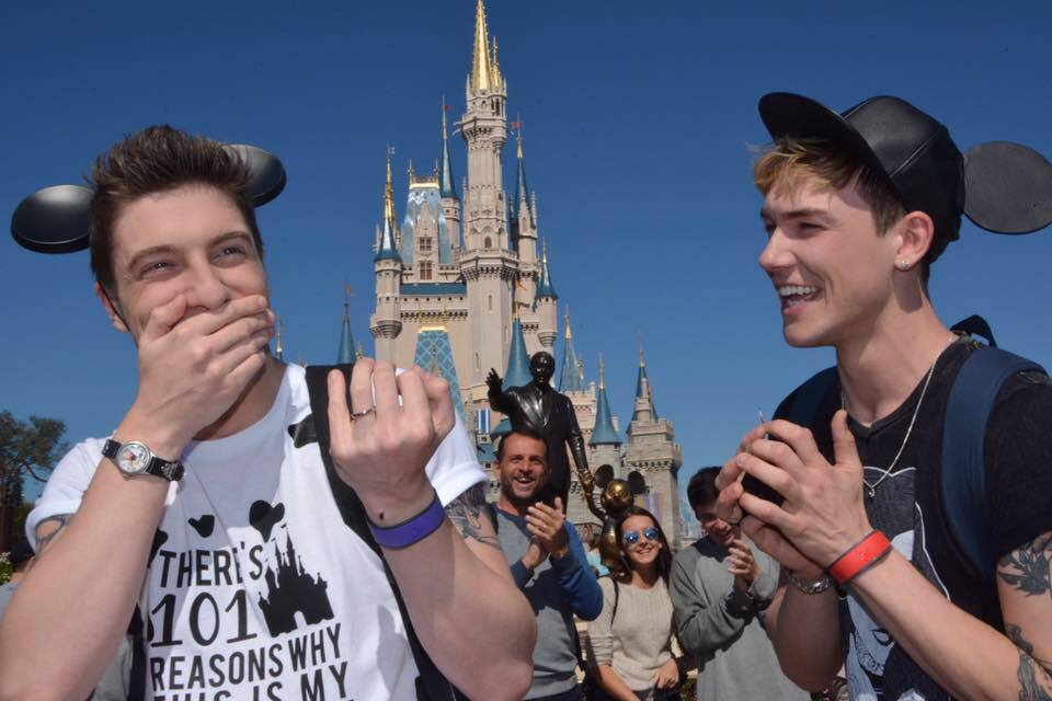 Gay Couple's Proposal