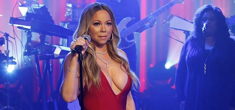 Mariah Carey Returns to TV with 'Jimmy Kimmel' Performance After NYE Disaster (Video)