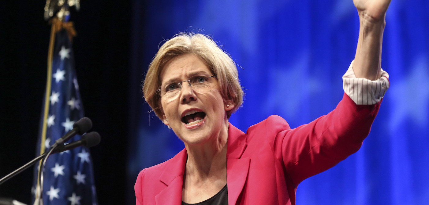 Elizabeth Warren Was Just Forced Into Silence for This Letter, So Read It Here