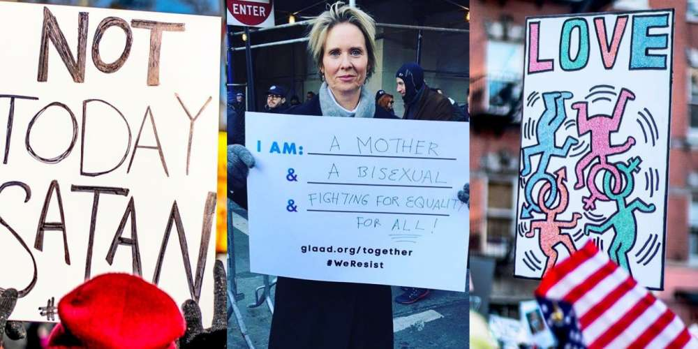 12 Fabulous Signs from the LGBT Solidarity Rally at Stonewall (Photos and Video)