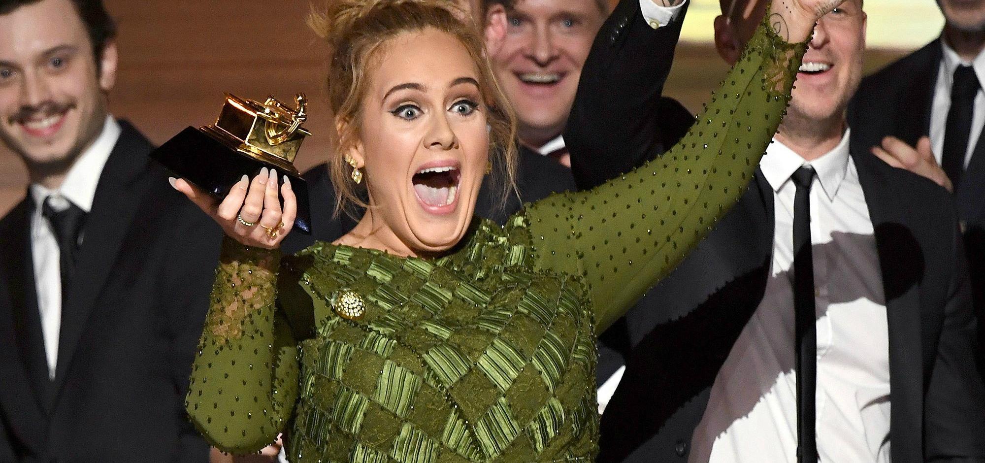 7 Momentos Favoritos: Gaga, Beyoncé y Adele en los Grammys (Video)