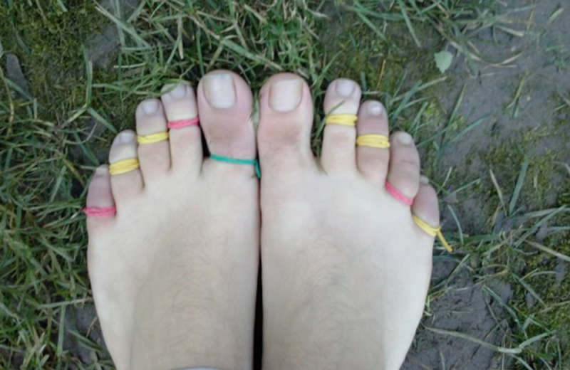 Unusual fetishes toe