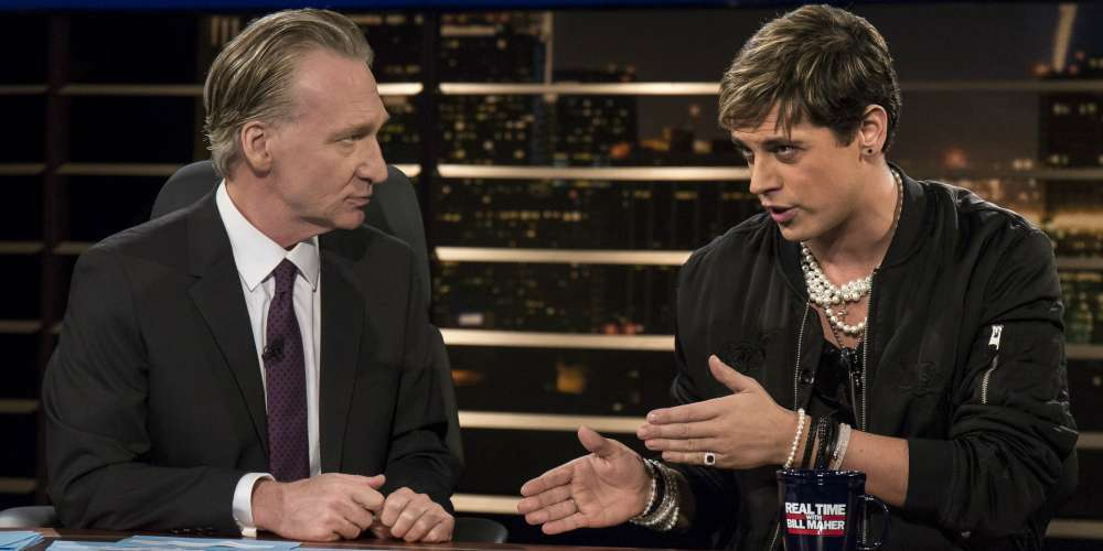 Here's Why Bill Maher's Comparison of Milo Yiannopoulos to Joan Rivers Is Problematic