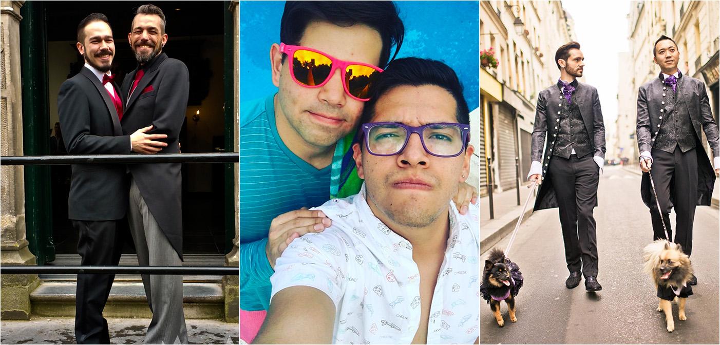 Estas 3 Parejas Gay Encontraron el Amor en Hornet, y Tú Puedes También