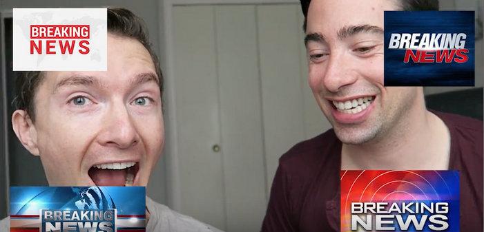 Arthus&Nico youtubeurs gays