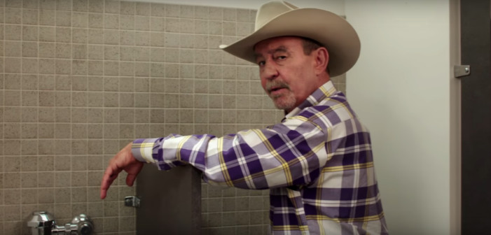 The 'I Pee with LGBT' Campaign Fights the Texas Bathroom Bill (Video)