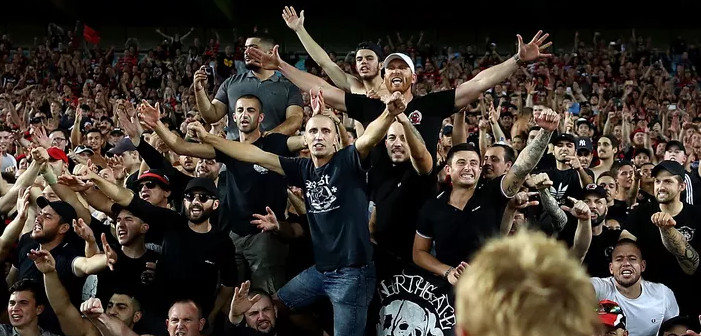 Sydney fans blowjob banner