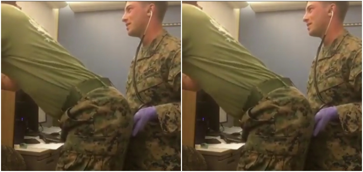 These Sexy Marines Playing Doctor Is the Viral Video You Never Knew You Needed