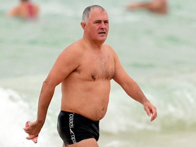 Malcolm Turnbull butt