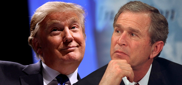 George W. Bush Speaks Out Against Donald Trump (Video)