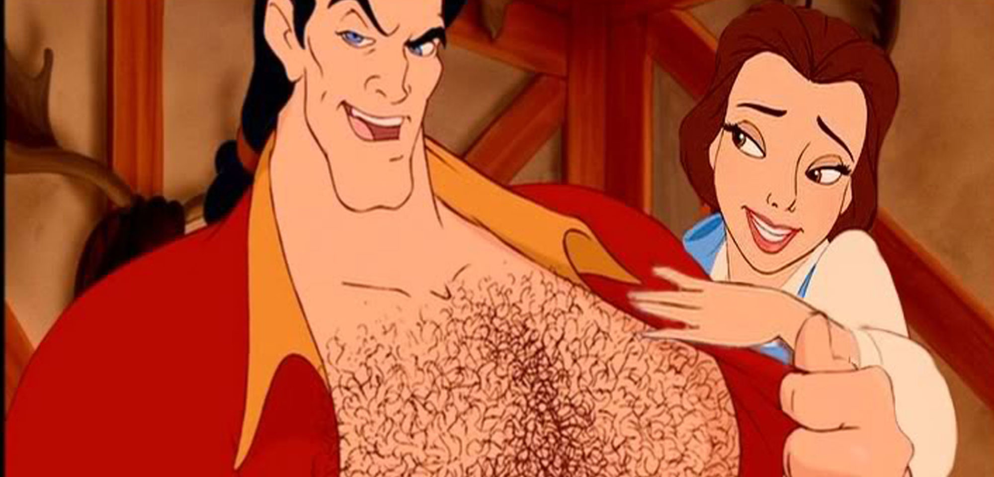 sexy gaston art Beauty and the Beast 01