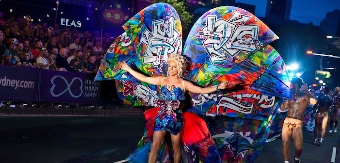 Let Courtney Act School You on the History of Sydney Mardi Gras (Video)