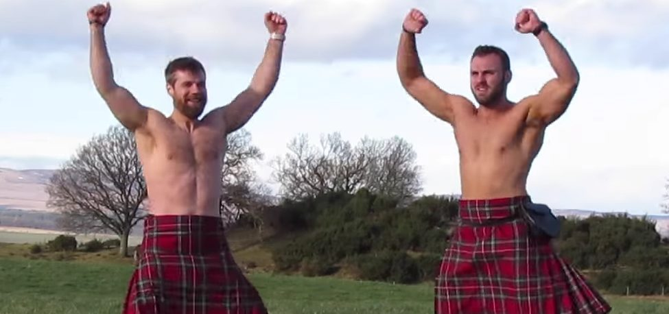 These Sexy Scotsmen Work Out in Kilts, and the Final Product Is Extremely Stimulating (Video)