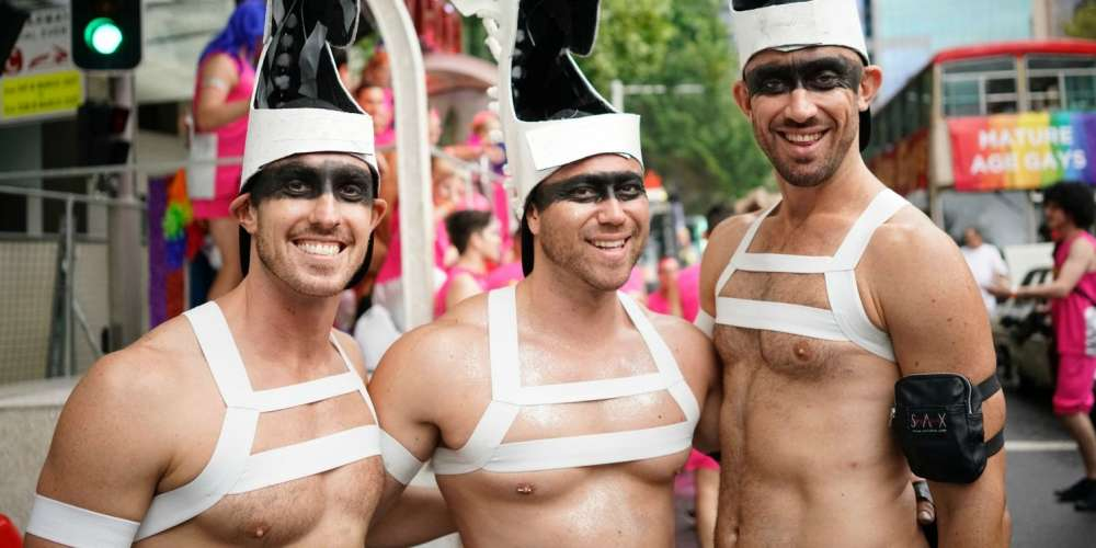 30 Must-See Moments From Sydney's Gay and Lesbian Mardi Gras Parade (Photos)