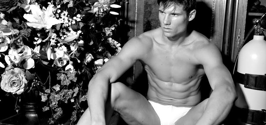 Calvin Klein's New Hunk Has a History of Getting Naked On Camera (Photos)