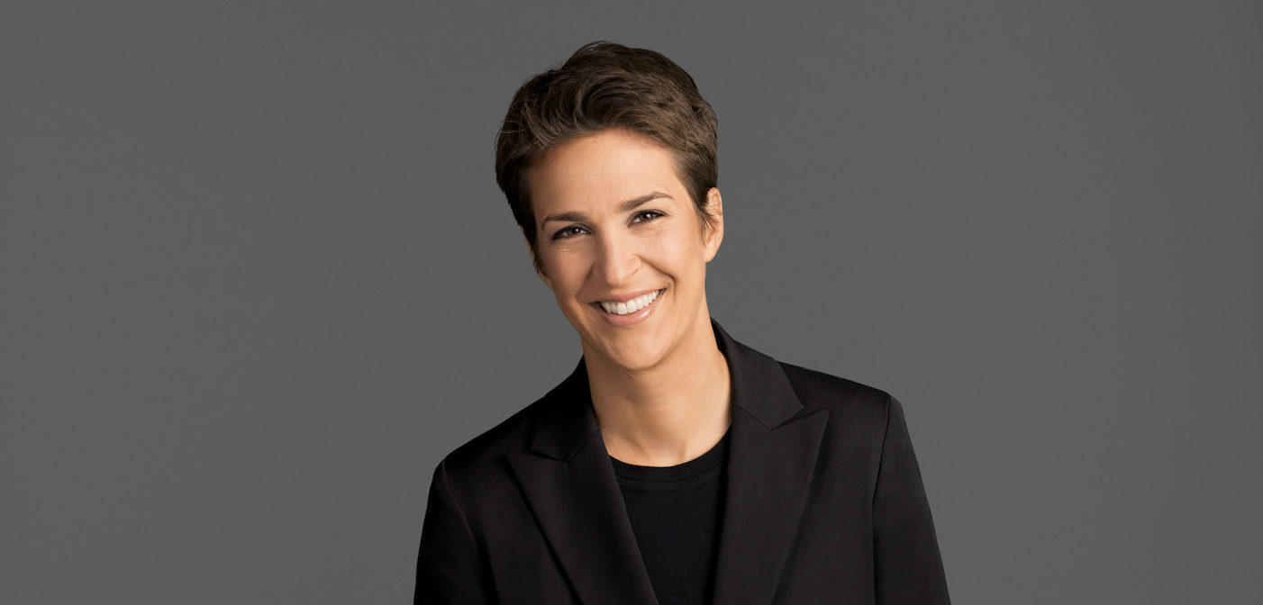 rachel maddow trump taxes