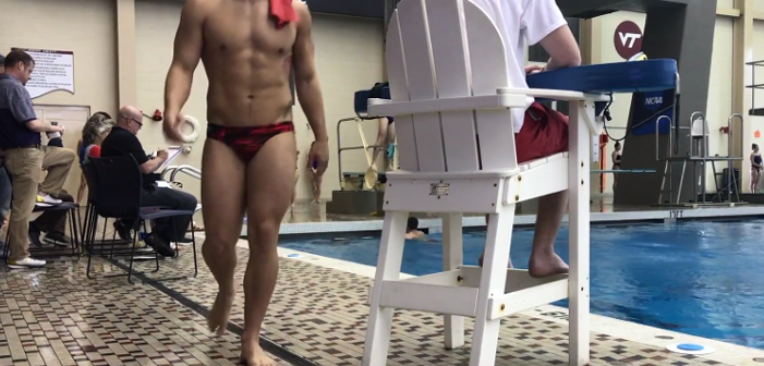 speedo-clad gay divers