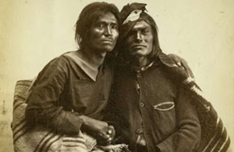 Two spirit, gay colonial america, Gotthold Enslin