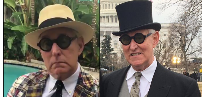 Trump Adviser and Babadook Impersonator Roger Stone Has Godawful Fashion Sense