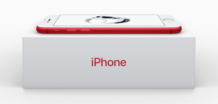 red iPhone box