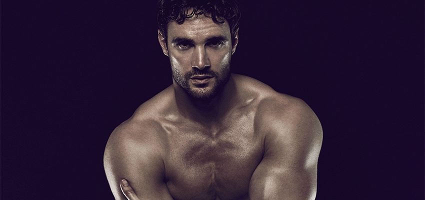 Rugged Rugby Star Thom Evans Poses Naked for Sexual Health Charity (NSFW)