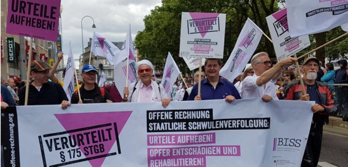 Germany Expected to Approve Bill Rehabilitating Gay Victims of Infamous Paragraph 175