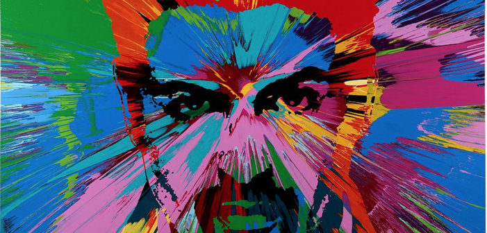 New George Michael Portrait by Damien Hirst Will Benefit HIV Charity