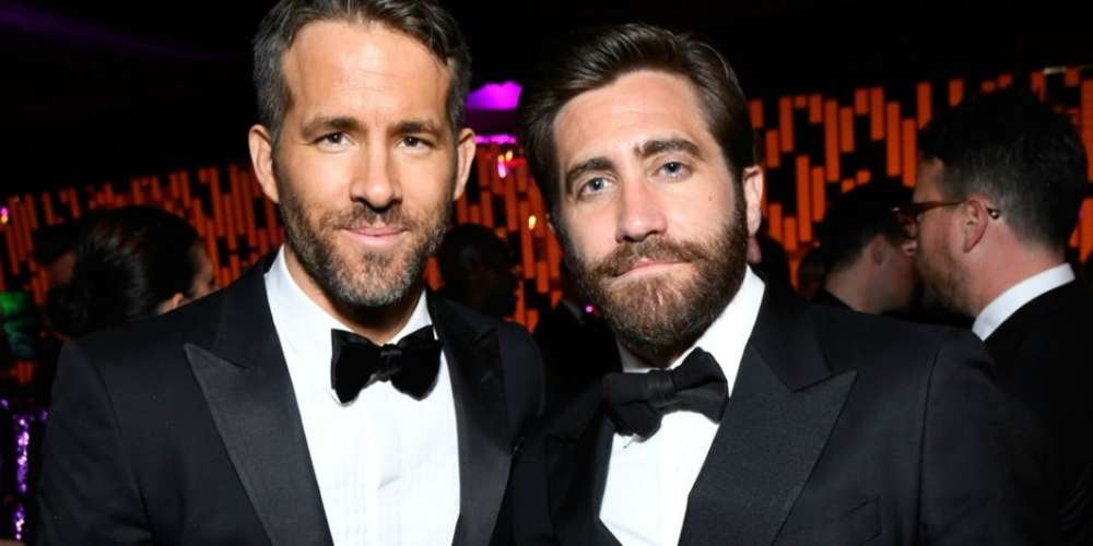 Jake Gyllenhaal's and Ryan Reynolds' Bromance Is Our Relationship Goal (Video)