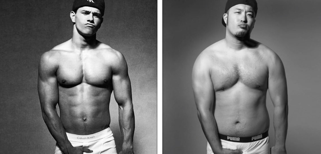 These 4 Sexy Asian Guys Recreate Iconic Celebrity Underwear Ads (Photos)