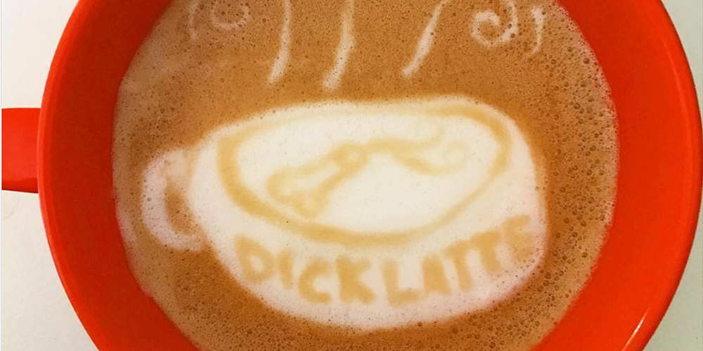 This Instagram Account Is All Dick Latte, All the Time (NSFW)