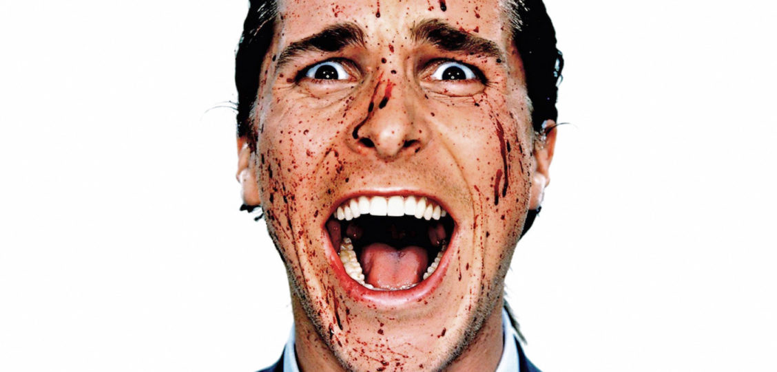 american psycho grooming regimen scream