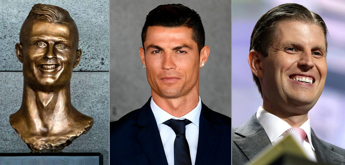 This Horrible Statue of Cristiano Ronaldo Actually Looks More Like Eric Trump