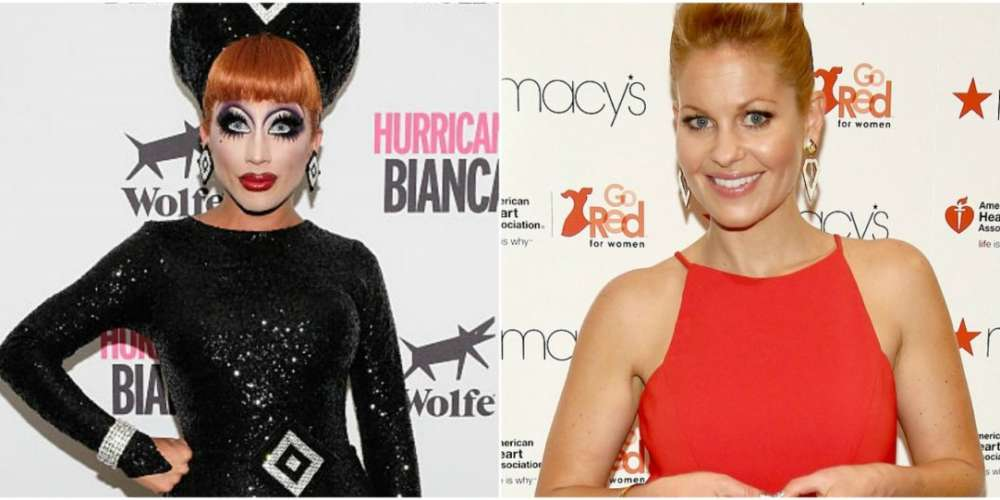 Bianca Del Rio Reads Anti-Gay Candace Cameron Bure to Filth on Instagram