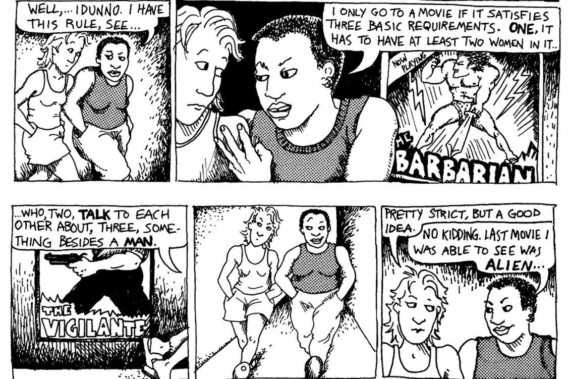 alison bechdel cartoonist laureate